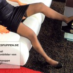 Silikonpuppe Tania mit langen Beinen